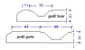 Profil porte Géraldine