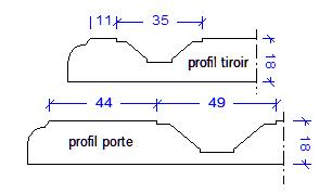 Profil porte Louise